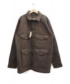 FILSON(フィルソン)の古着「マッキーノクルーザージャケット」 ブラウン