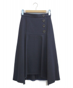 JILL STUART(ジルスチュアート)の古着「ブランカスカート」|ブラック