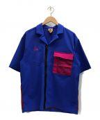 NIKE ACG()の古着「ナイロンジャケット」 ブルー