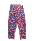 Parra x NIKE SB(パラ × ナイキ エスビー)の古着「パンツ」 ピンク×ブルー