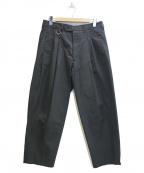 lownn(ローン)の古着「タックパンツ」|ブラック