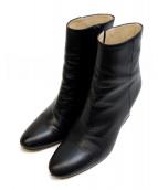 FABIO RUSCONI(ファビオルスコーニ)の古着「ショートブーツ」|ブラック