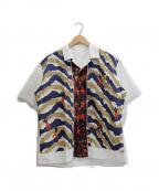 TOGA VIRILIS()の古着「オープンカラーシャツ」|ホワイト