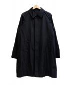 Rags McGREGOR(ラグスマックレガー)の古着「SOUTIEN COLLAR COAT」 ブラック