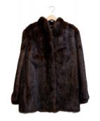 SAGA MINK(サガミンク)の古着「ミンクコート」 ブラウン