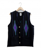 ORTEGAS(オルテガ)の古着「チマヨベスト」 ブラック
