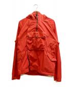 C.P COMPANY(シーピーカンパニー)の古着「ゴーグルジャケット」|レッド