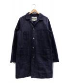 PHERROWS(フェローズ)の古着「ショップコート」|ネイビー