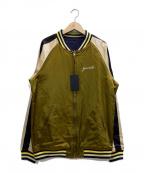 GAVIAL(ガヴィル)の古着「スーヴェニアジャケット」|オリーブ