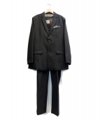 VOLCOM(ボルコム)の古着「3ピーススーツ」|ブラック