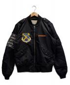 AVIREX(アビレックス)の古着「SUKA L-2 JACKET」|ブラック