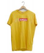 ()の古着「ボックスロゴTシャツ」|イエロー