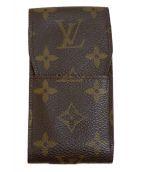 LOUIS VUITTON(ルイヴィトン)の古着「シガレットケース」 ブラウン