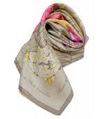 HERMES(エルメス)の古着「スカーフ」 ベージュ