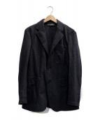 DOLCE & GABBANA(ドルチェアンドガッバーナ)の古着「2Bウールテーラードジャケット」|グレー