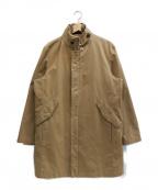 DURBAN(ダーバン)の古着「ライナー付スタンドカラーコート」|ベージュ