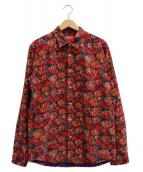 Supreme(シュプリーム)の古着「Roses Corduroy Shirt」 レッド