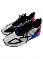 adidas(アディダス)の古着「スニーカー」 ネイビー×ピンク