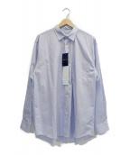 COMOLI(コモリ)の古着「ポプリンシャツ」|ブルー