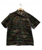 WTAPS(ダブルタップス)の古着「シャツ」|オリーブ