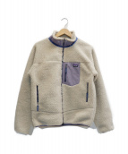 Patagonia(パタゴニア)の古着「Kids Retro-X Jacket」|アイボリー