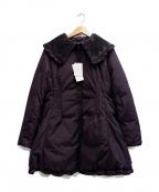 SHIZUKA KOMURO(シズカコムロ)の古着「ダウンコート」|パープル