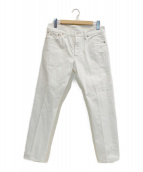 RRL(ダブルアールエル)の古着「デニムパンツ」 ホワイト