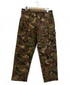 eYe COMME des GARCONS JUNYAWAT(コム デ ギャルソン ジュンヤ ワタナベ マン)の古着「Cotton Herringbone M47 Trouser」 グリーン
