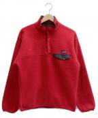 Patagonia()の古着「シンチラスナップTフリースジャケット」|レッド