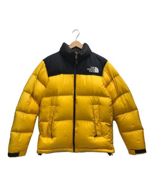 THE NORTH FACE(ザ ノース フェイス)THE NORTH FACE (ザ ノース フェイス) ヌプシンダウンジャケット イエロー サイズ:Mの古着・服飾アイテム