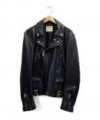 Lewis Leathers(ルイスレザース)の古着「ダブルライダースジャケット」 ブラック