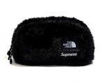 SUPREME × THE NORTH FACE(シュプリーム × ザノースフェイス)の古着「Fur Waist Bag」|ブラック