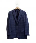 BRIONI(ブリオーニ)の古着「2Bジャケット」 ネイビー