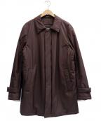 Paul Stuart()の古着「中綿コート」 ブラウン