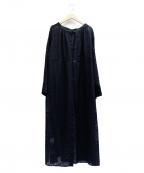 ROSSO(ロッソ)の古着「OPALPRINT ONEPIECE」 ブラック