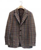 SOVEREIGN(ソブリン)の古着「ファンシーチェック3Bジャケット」|ブラウン