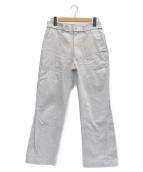 ALLEGE(アレッジ)の古着「20SS Finx Pique Insideout Pant」|ベージュ