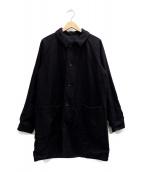 Engineered Garments(エンジニアードガーメンツ)の古着「Reversible Bal Coat」 ブラック×ブルー