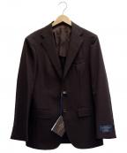 UNITED ARROWS()の古着「3Bスーツ」 ブラウン