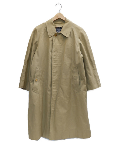 Burberrys(バーバリーズ)Burberrys (バーバリーズ) 裏ノヴァチェックステンカラーコート ベージュ サイズ:表記なしの古着・服飾アイテム
