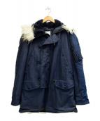 PARKA EXTREME COLD WEATHER(パーカーエクストリームコールドウェザー)の古着「N-3Bタイプコート」|ネイビー