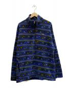 Patagonia(パタゴニア)の古着「90sハーフジップフリースジャケット」 パープル