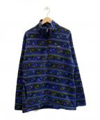 Patagonia()の古着「90sハーフジップフリースジャケット」|パープル
