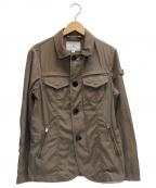 PEUTEREY(ピューテリー)の古着「ミリタリーテーラードブルゾン」 ブラウン