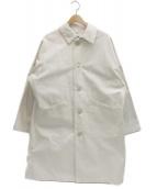 Yarmo(ヤーモ)の古着「英国製ダスターコート」|ホワイト
