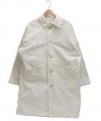Yarmo(ヤーモ)の古着「英国製ダスターコート」 ホワイト