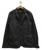 RALPH LAUREN BlackLabel(ラルフローレンブラックレーベル)の古着「キルティングジャケット」|ブラック
