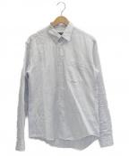 COMME des GARCONS HOMME DEUX()の古着「ストライプシャツ」|ホワイト×ブルー