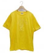 A BATHING APE()の古着「Tシャツ」|イエロー