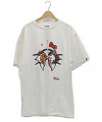 BAPE BY A BATHING APE(ベイプバイアベイシングエイプ)の古着「Tシャツ」|ホワイト